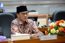 Ketua Komisi VIII DPR RI, Yandri Susanto (kompas.com)