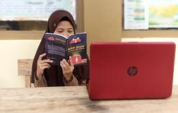 Zhalsadilla Putri, Siswa MA PP. Nurul Falah Borongganjeng Bulukumba. (Dokpri)