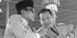 Soekarno dan Soeharto, Sumber Gambar: istimewa