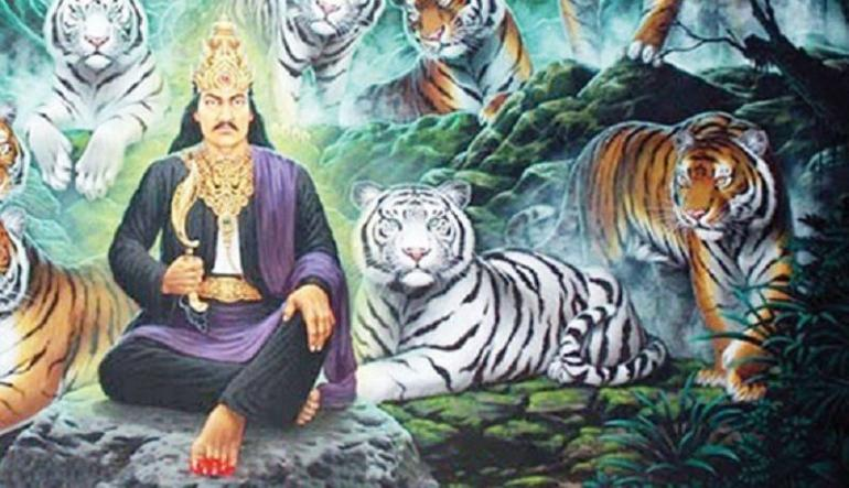 Lukisan Prabu Siliwangi (Sumber:suryagrageonline.com)