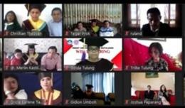 peserta wisuda daring(sumber:sonnymoningkey)
