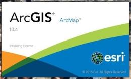 Software SIG ArcGIS (Sumber: Dokumen Pribadi)