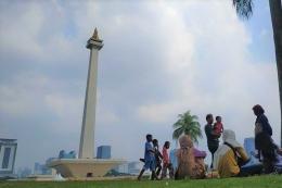 Monumen Nasional, ikon DKI Jakarta (Foto: KOMPAS.com/Vitorio Mantalean)