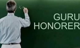 Pengabdian Guru Honorer. Sumber Jambi Ekspress
