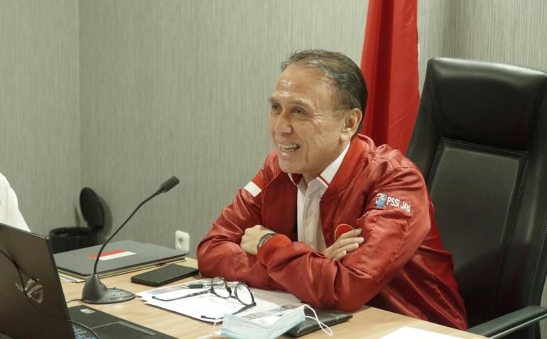 Ketum PSSI, Mochamad Iriawan (Foto PSSI.org)