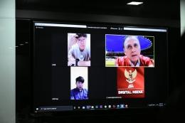 Dialog virtual, Iwan Bule dan Shin Tae yong (Foto PSSI.org)