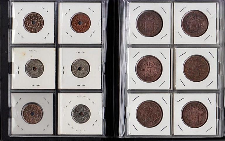 Ilustrasi: Koleksi koin lama dalam album (Dokpri)