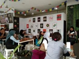 Acara diskusi di Garum. Dokumentasi pribadi
