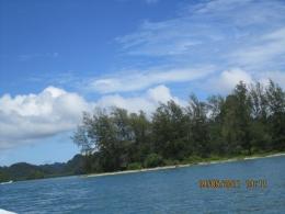 Panorama yang indah di Kilim Geoforest Park (dokpri)