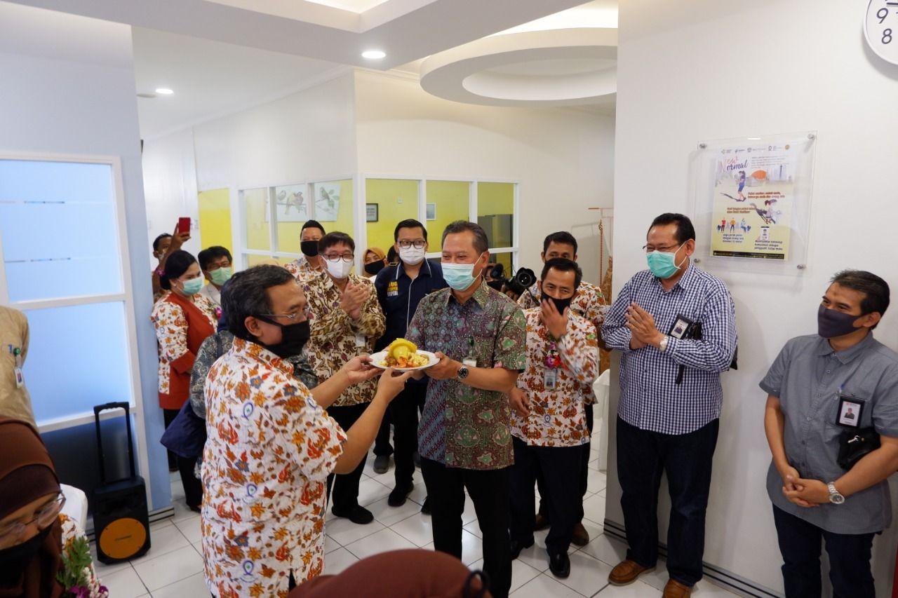 Deskripsi : Peresmian ruangan MCU RSKO Jakarta bertepatan dengan hari ulang tahun ke 48 tahun I Sumber Foto : dokpri