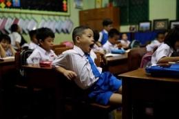 ilustrasi anak sekolah | kompas.com