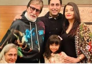 Amitabh Bachchan dan keluarga (ayobandung.com)