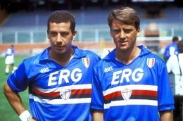 Gianluca Vialli dan Roberto Mancini, Dua Ujung Tombak Kembar Sampdoria 1990 an (https://www.gazzetta.it/)