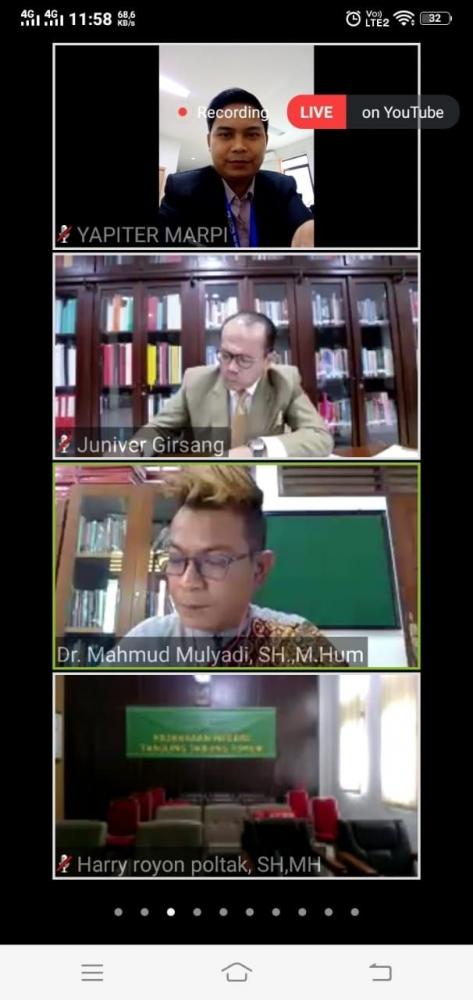 Zoom meeting webinar MAHUPIKI 3