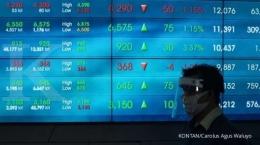 Investasi saham saat pandemi seperti sekarang masih bisa peluang (Sumber: KONTAN/Carolus Agus Waluyo)
