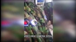 Gambar : Tangkapan layar viral 'tentara China nge-laundry di Kelapa Gading' (IG Polres Jakut) via detik.com