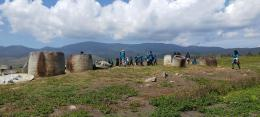 Field school di Kawasan Megalitik Lore Lindu. Sumber foto: Wuri Handoko/Balai Arkeologi Sulawesi Utara