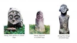 Ragam Arca Megalitik di Kawasan Megalitik Lore Lindu. Sumber; Museum Nasional/Iksam Kaili /Museum Sulawesi Tengah