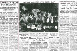Pemberitaan Sydney Morning Herald tanggal 25 September 1945 (Foto: National Library of Australia)