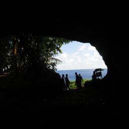 Situs Gua Buide, Pulau Melonguane, Kep. Talaud. Sumber: Balar Sulut