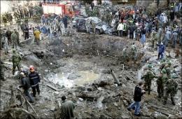 Kawan Bom Truck Pada 2005 yang menewaskan PM Rafik Al Hariri | Sumber: Twitter @drbairdonline