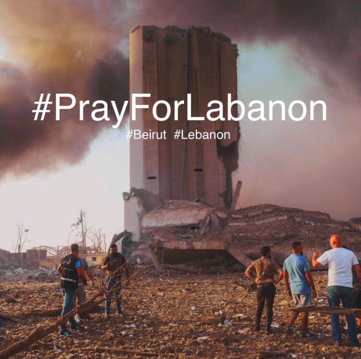 PrayForLebanon | Sumber: Twitter @marconi333