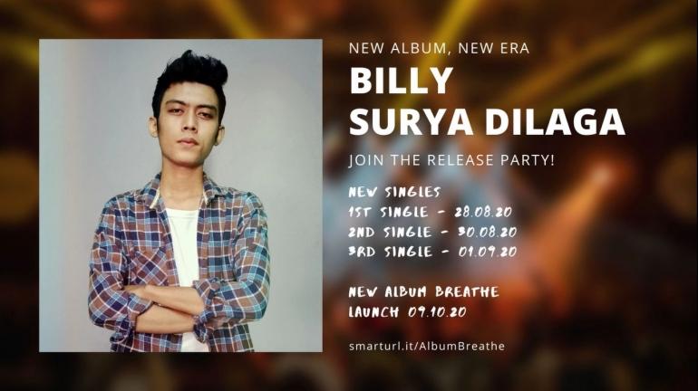 Jadwal Perilisan Album Baru Billy Surya Dilaga via Instagram @itsbillysuryadilaga