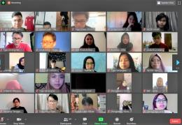 Tangkapan layar peserta LCC virtual 2020 | dokpri