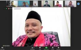 Atdikbud KBRI Beijing, Bapak Yaya Sutarya dalam sambutan penutup | dokpri