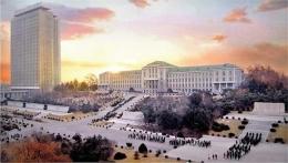 Foto Universitas Kim Il-Sung (sumber: exploreddprk.com)