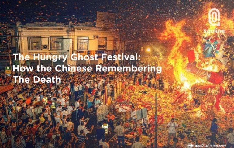 Ilustrasi Festival Hantu Kelaparan (sumber: squline.com)