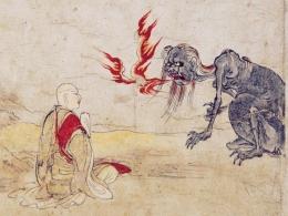 Ilustrasi Legenda Mu-lian (sumber: tionghoa.info)