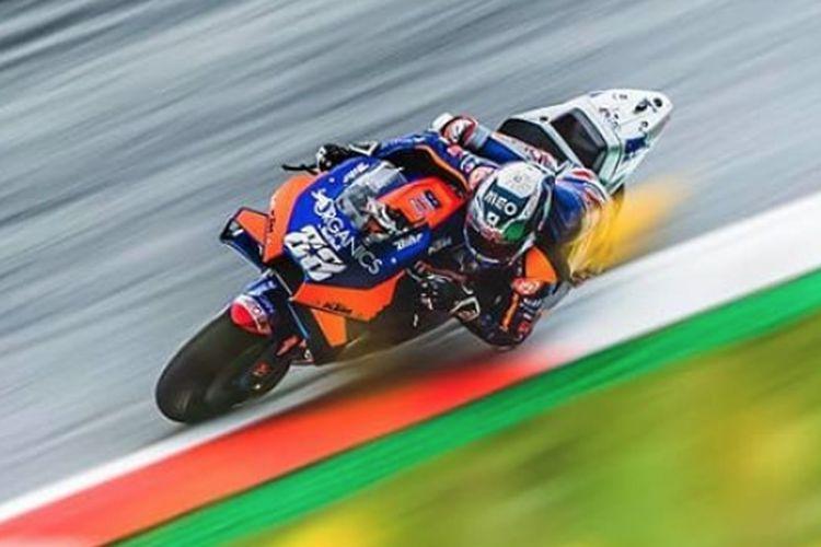 Pebalap MotoGP Miguel Oliveira. (KOMPAS.com/Aprida Mega Nanda)