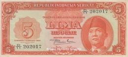 Wajah Sukarno pada Uang RIS 1950 (koleksi pribadi)