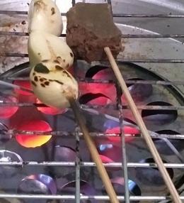 Bakar bawang putih dan terasi/dok.pri
