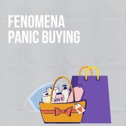 Fenomena Panic Buying (sumber gambar: @indahladya)