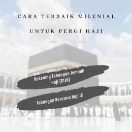 Cara Terbaik Milenial untuk Pergi Haji (sumber gambar: @indahladya)