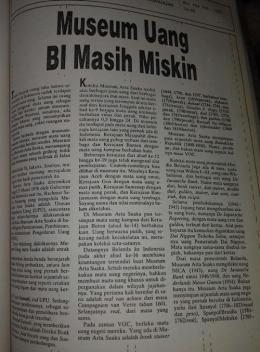 Tulisan saya di tabloid Mutiara (koleksi pribadi)