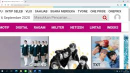 tangkapan layar pribadi dari laman viva.co.id