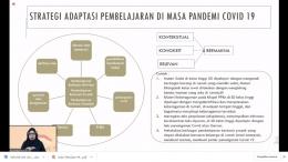 Strategi Adaptasi Pembelajaran/dokpri