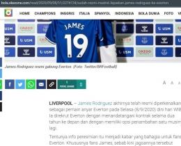 Hypertextual yang ditunjukkan menggunakan tulisan warna biru/ Dok. okezone.com