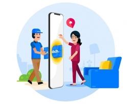 Mulai dari pemesanan kartu sampai customer service dilakukan lewat aplikasi switch (dok.pri/tangkapan layar aplikasi switch)