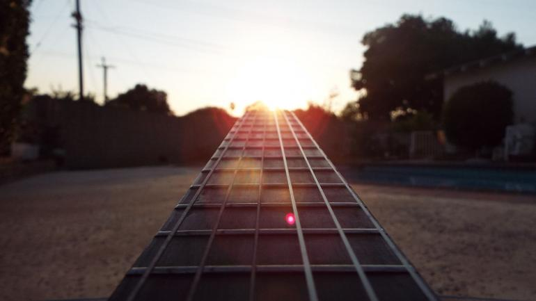 Ilustrasi gitar (Sumber: pixabay.com/6104122)