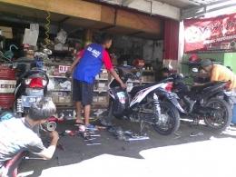 Bengkel Motor (Dok wartabromo.com)