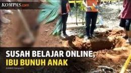 Pembongkaran makam bocah korban pembunuhan/Foto: kompas.com