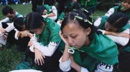 Ilustrasi pelaksanaan ospek di kampus   Sumber: palembang.tribunnews.com