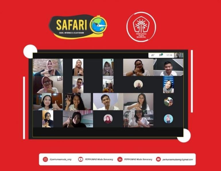 Safari #1 PERHUMAS Muda Semarang bersama PERHUMAS Muda Bandung. Dok. PM