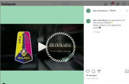 Pemenang Kampanye via Instagram Juara 1 (dokpri)