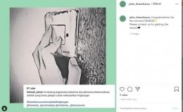 Pemenang Kampanye via Instagram Juara 2 (dokpri)