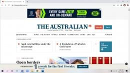 tampilan awal theaustralian.com.au